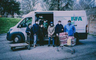 Il sorriso degli occhi e un camion pieno di aiuti